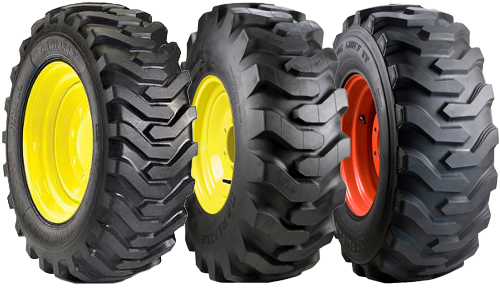 5.70X12-Made in USA 4 HD 5.70-12 Carlisle Trac Chief Skid Steer Tires
